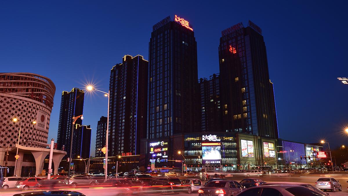 锦州_锦州中央南街黄金夜