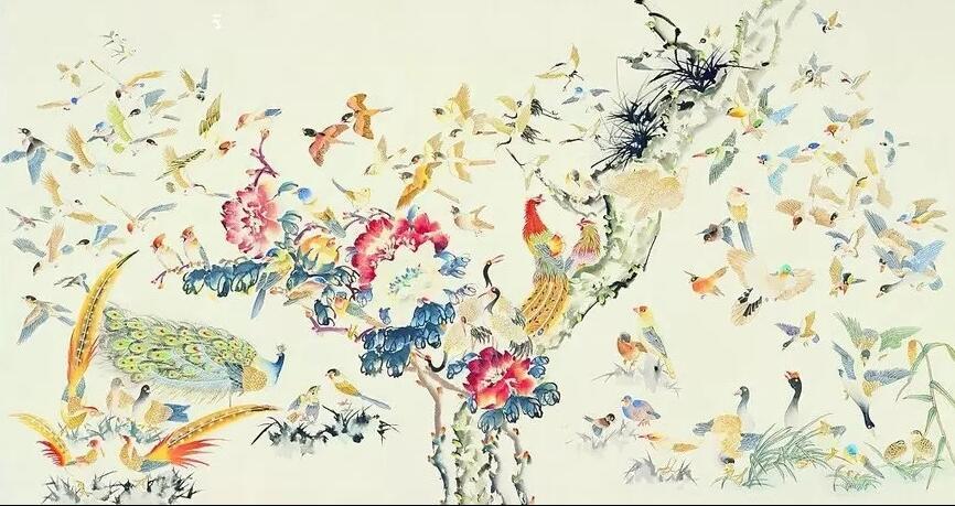 祝看到的人身康体健龟鹤遐寿 祝看到的人鸟语花香荣华富贵