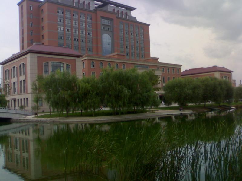 渤海大学校园风光 手机拍摄图片