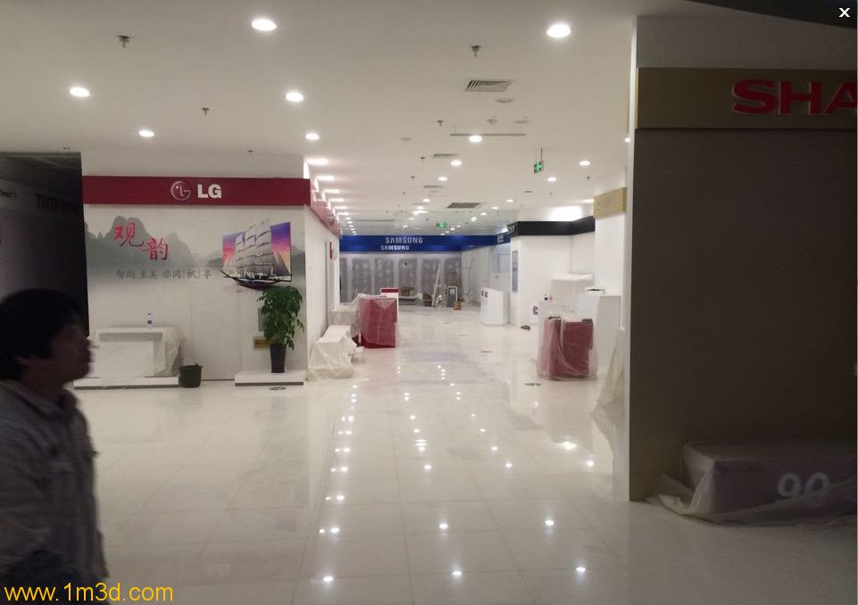 锦州兴隆大家庭内部装修照 值得期待呀,外面装修非常漂亮